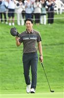 石川、2大会連続Vに王手 セガサミー杯ゴルフ
