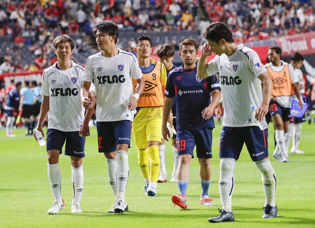 首位FC東京は引き分け J1、横浜Mが3位浮上