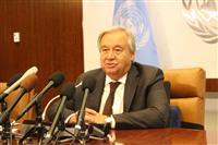 国連事務総長、GSOMIA破棄「日韓で解決を」 関係の正常化促す