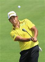 松山は暫定12位 米男子ゴルフ最終戦