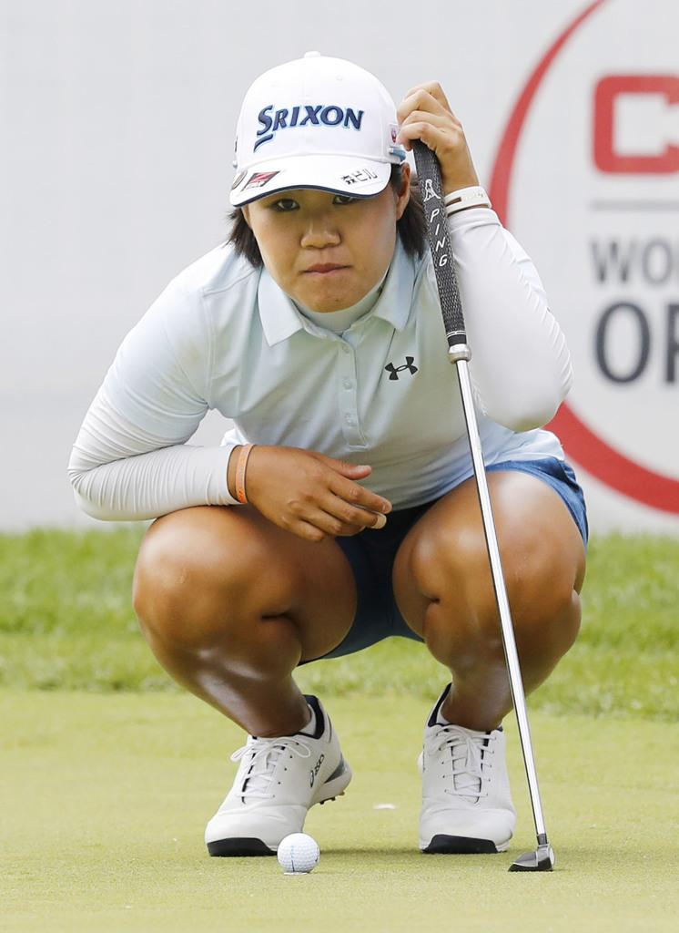 畑岡が5位浮上 米女子ゴルフ第3日