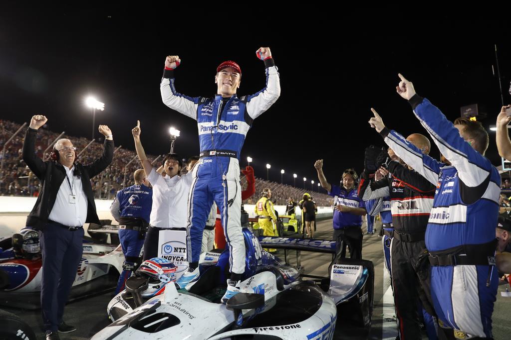 佐藤が今季2勝目 自動車インディカー