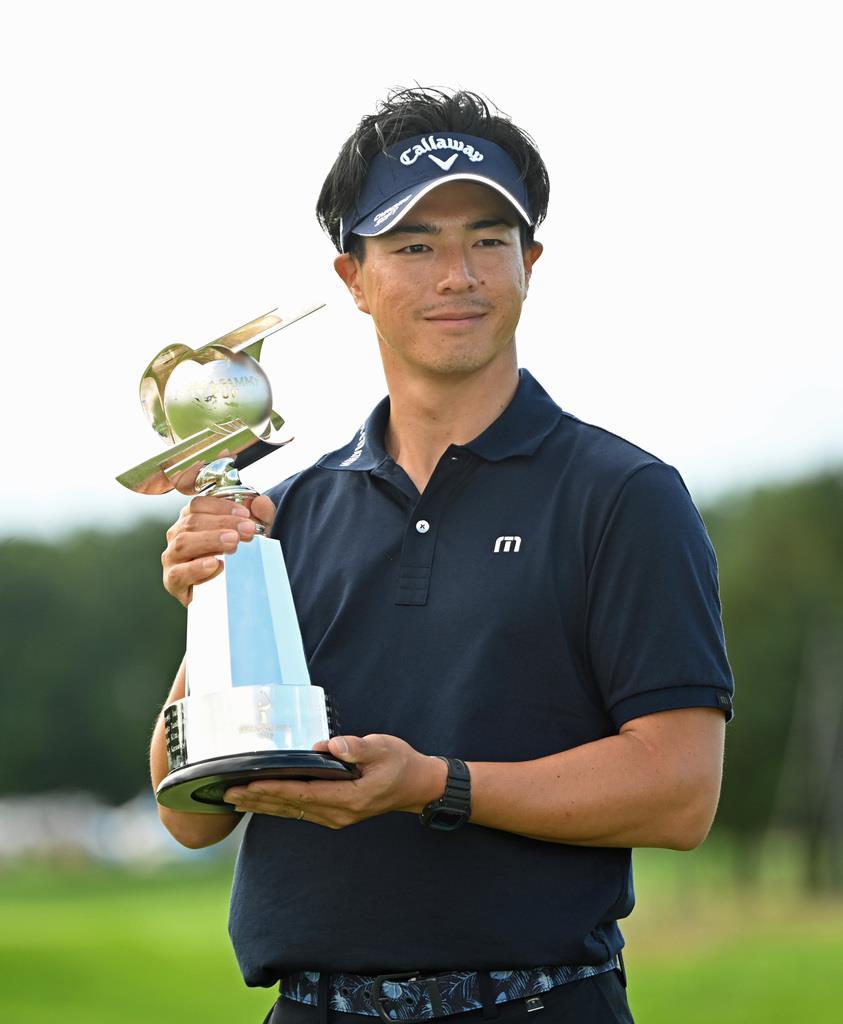 27歳石川が2戦連続優勝 男子ゴルフ、通算16勝
