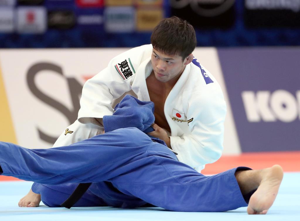 男子60キロ級の永山竜樹は3位決定戦へ 世界柔道