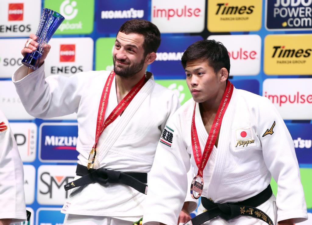 男子60キロ級、永山が高藤倒して意地の銅メダル 世界柔道