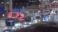 東京五輪へバス輸送実験 首都高で開会式想定