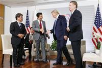 日米首脳会談 貿易交渉 9月下旬に協定署名へ GSOMIAは議題にならず