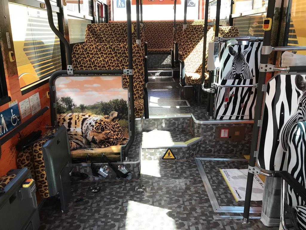ヒョウ柄、スイーツ 個性派バスで需要喚起へ 大阪メトロ延伸区…