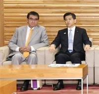 河野外相も「輸出管理とは次元違う話」韓国首相のGSOMIA破棄見直し発言