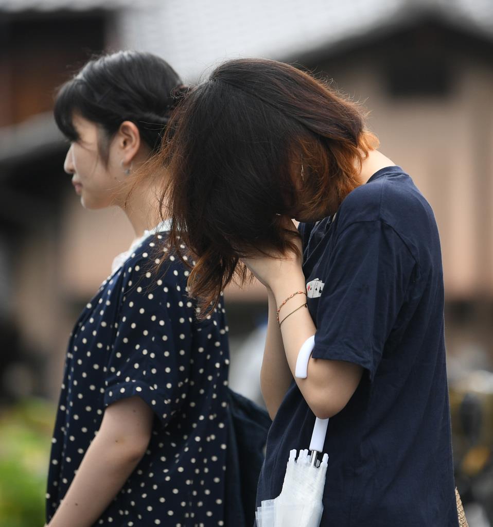 京アニ事件身元公表から一夜明け 現場に悼む人絶えず - 産経 ...