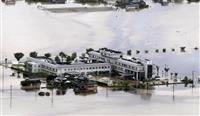 佐賀で病院孤立、院内に油流入 九州北部豪雨