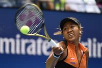 初戦突破の大坂「戦い慣れている」 全米テニス