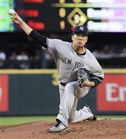 田中10勝目、日本投手初の6年連続2桁勝利 「うれしく思う」
