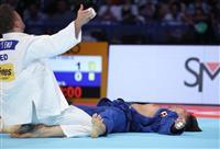 世界柔道 男子90キロ級・向は銀メダル