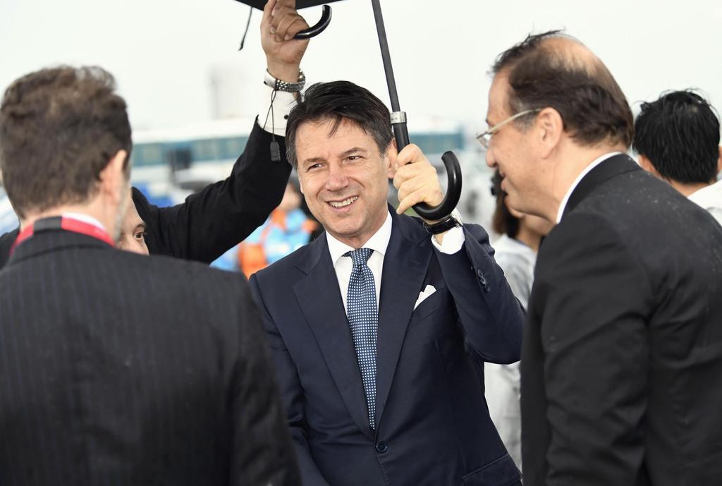 イタリアのコンテ首相