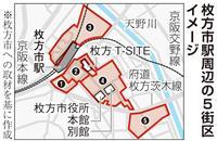 大阪・枚方市長選、市駅周辺の再整備は 9月1日投票