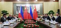 中国フィリピン首脳会談 習氏、関係強化呼び掛け