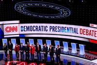米大統領選、第3回民主党候補者討論会の参加者10人決まる