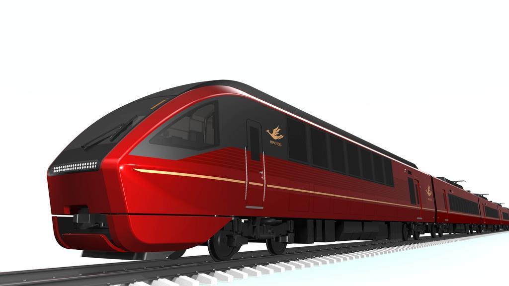 近畿日本鉄道が令和2年3月から大阪難波-近鉄名古屋間で運行する新型車両「ひのとり」のイメージ(同社提供)
