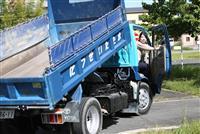 災害対応力磨け 摂津市職員トラック研修