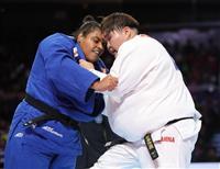 朝比奈が銅メダル 世界柔道