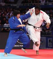 19歳素根、初出場で金メダル 世界柔道