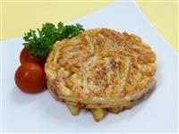 【ひなちゃんパパの家族レシピ】コンビーフとジャガイモのガレット