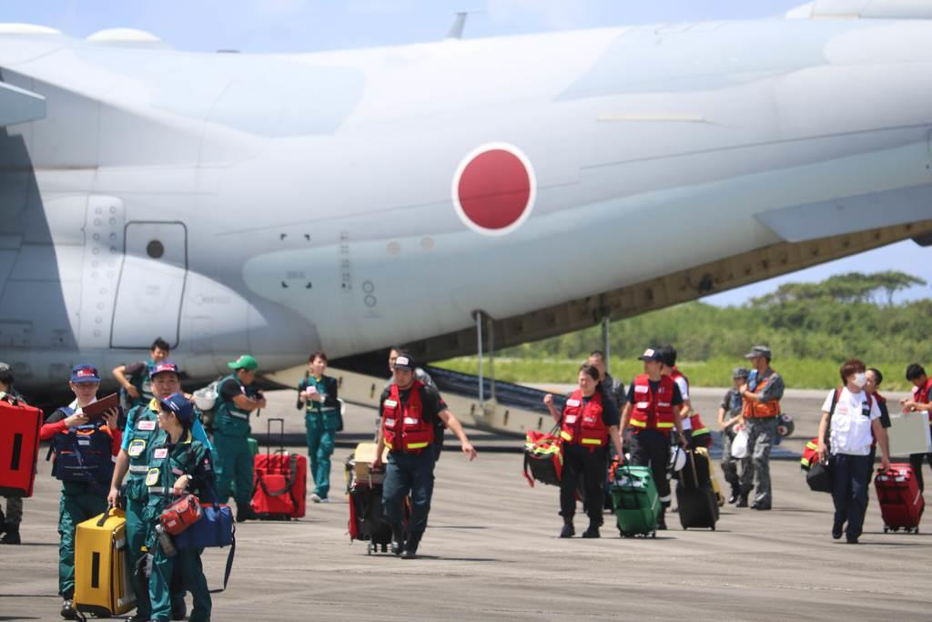 自衛隊が沖縄県防災訓練に参加 固定翼機が初めて下地島空港を使用 ...