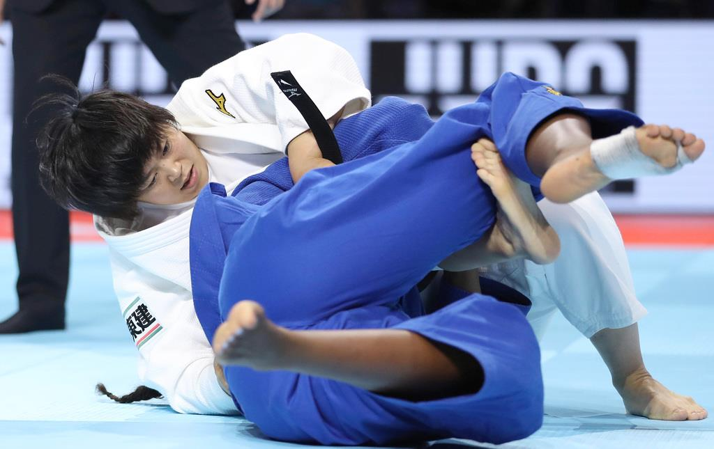 日本が男女混合団体で3連覇 世界柔道選手権、浜田が窮地救う ...