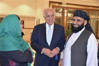 アフガン和平、原則合意 米代表言明、タリバンと協議