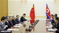 中朝外相、非核化で「深い議論」 北、香港情勢で中国支持