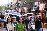 観光消費は京都市に集中 昨年の京都府内1兆3700億円、6年連続最高更新