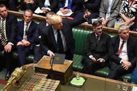 英議会、「合意なき離脱」阻止法案が審議入り ジョンソン首相、解散総選挙提案の意向表明
