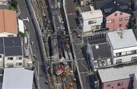 京急で快速特急とトラックが衝突し車両が脱線、負傷者34人に 横浜