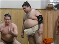大関高安が左肘負傷で大相撲秋場所全休 九州かど番へ