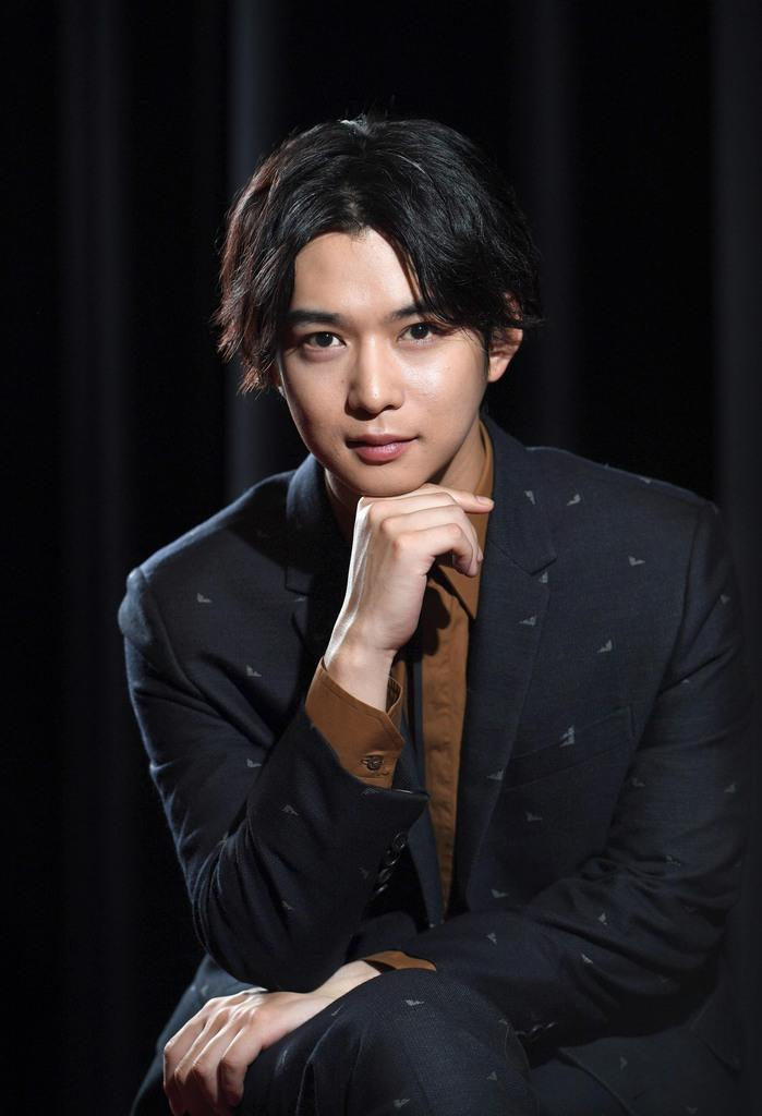 NHKBSドラマ「盤上の向日葵」に出演する俳優の千葉雄大(寺河内美奈撮影)