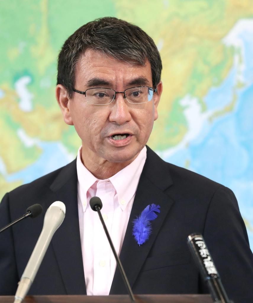河野防衛大臣  日本の領土防衛の為には武力行使も辞さずと国際社会に表明