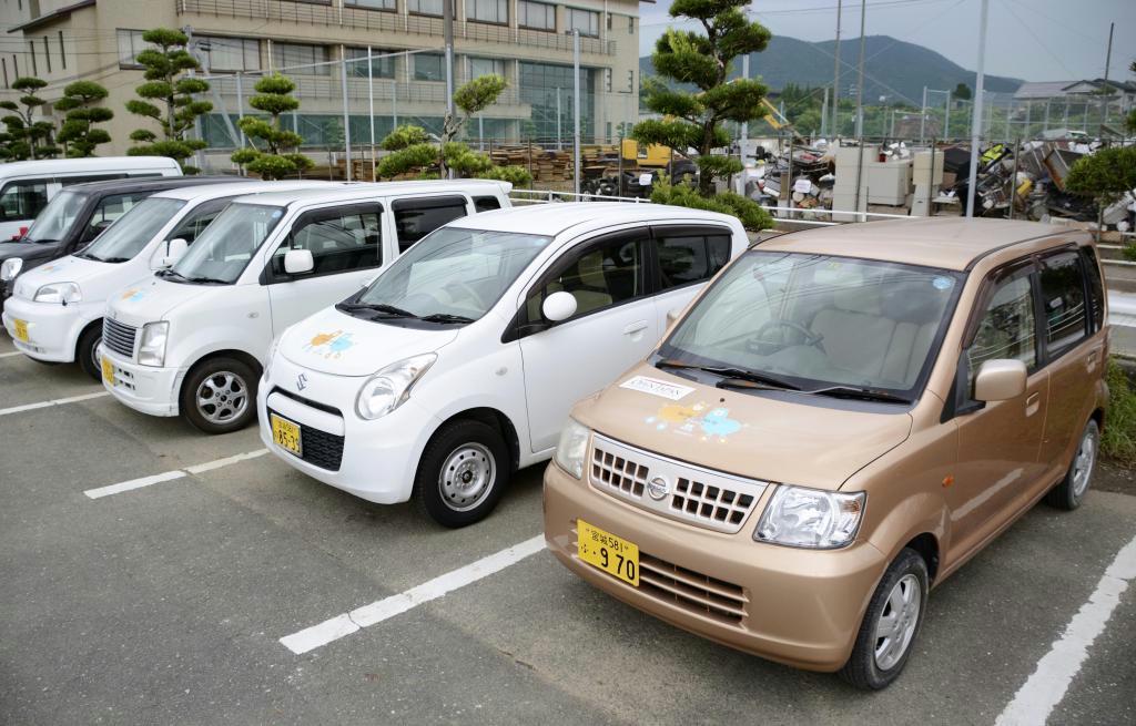 日本カーシェアリング協会が、浸水被害を受けた佐賀県武雄市で貸し出しを始めた軽乗用車