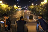 9万人参加し予行演習 中国、建国70年パレード
