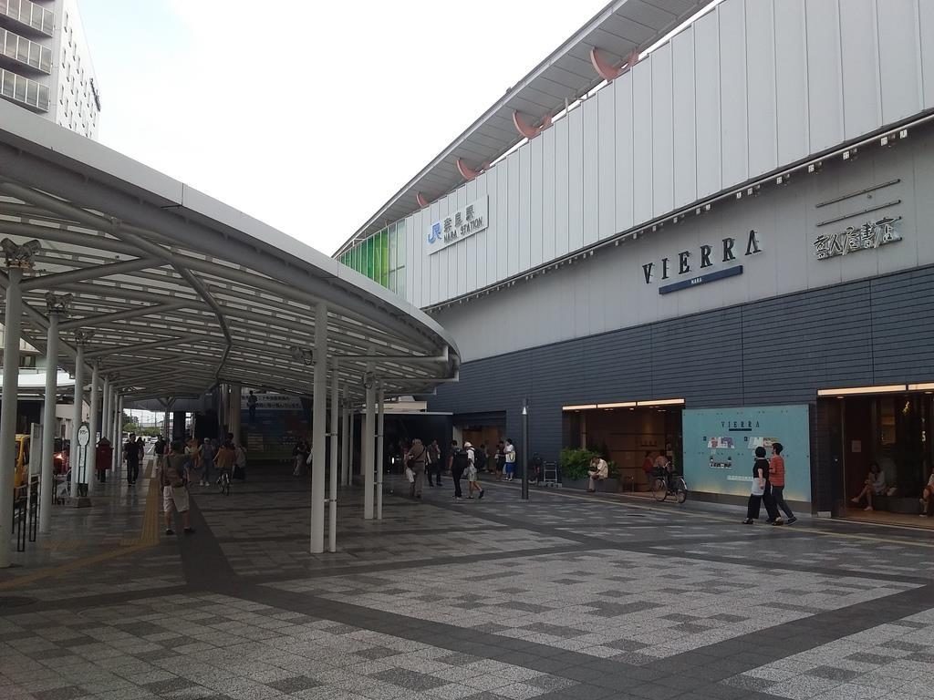 アクセスの改善で利用者が増加するJR奈良駅=8月25日(黒川信雄撮影)