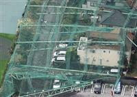 千葉でゴルフ場ポール倒壊 20代女性重傷、台風15号