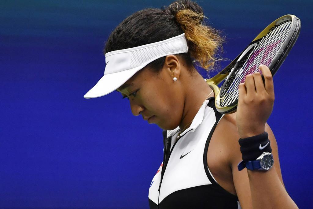 女子テニス世界ランキングで首位から4位へ陥落した大坂なおみ選手(共同)