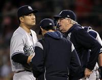 田中は4回4失点で11勝目ならず 「交代は仕方ない」