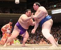 鶴竜、貴景勝が2連勝 白鵬休場、2大関は対照的