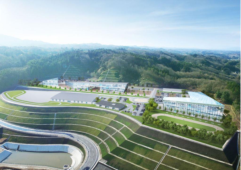 ミツフジ、立命館大学、福島件川俣町による「福島イノベーションビレッジ(仮称)」の完成イメージ(ミツフジ提供)