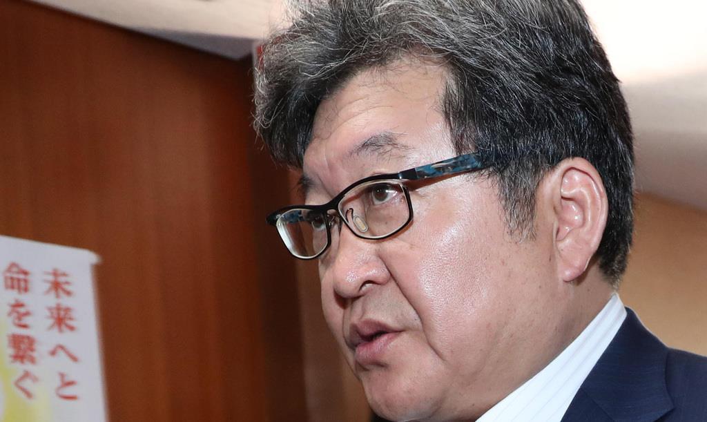 自民党・萩生田光一幹事長代行(春名中撮影)
