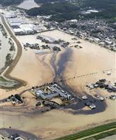 佐賀県、大雨被害の油流出で農地土壌検査へ 住宅被害は4000棟超