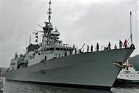カナダ艦が台湾海峡通過 今年2回目