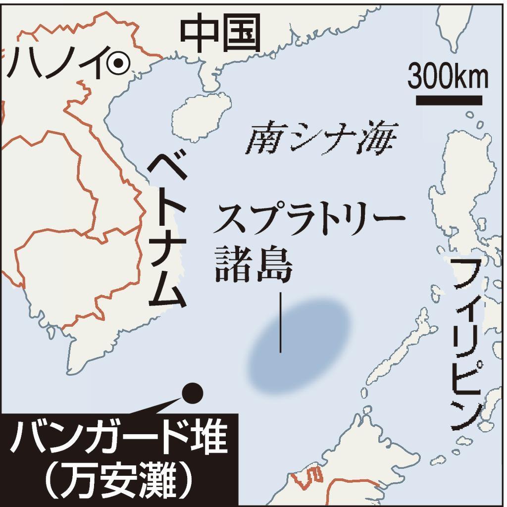 バンガード堆(南シナ海)