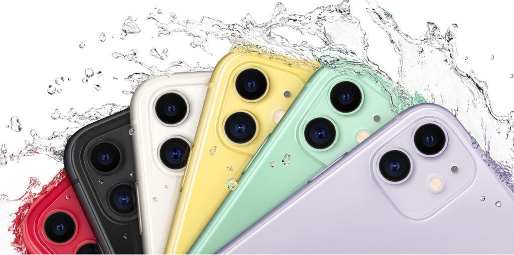 iPhone 11はデュアルカメラで6色展開。イエローとレッドがあるのは11のみ